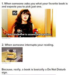 17 Problems Only Book Lovers Will Understand | BuzzFeed (Follow link for more)