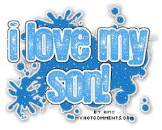 I love my son glitter | Comments, Myspace i love my son Graphics - Pimp your profile, glitter ...