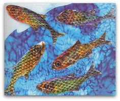 Easy Crafts for Kids - Project 4 - Making Shiny Fish
