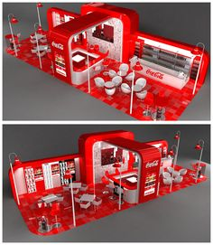 icu ~ Pin on Exhibition Designs ~ This Pin was discovered by MHS WORLD Design. Tv Set Design, Trade Show Booth Design, Kiosk Design, Display Design, Store Design, Exhibition Stall, Exhibition Booth Design, Coca Cola, Model House Kits