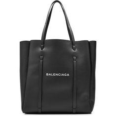 Balenciaga Large Printed Leather Tote (62.035 RUB) ❤ liked on Polyvore featuring bags, handbags, tote bags, balenciaga, black, real leather tote, genuine leather handbags, genuine leather purse, balenciaga tote and balenciaga purse