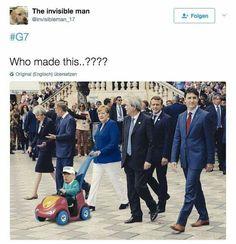 Meanwhile at the G7 summit... vroom vvroooom!