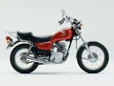 CM 125C, 1982 passed my test on one like this