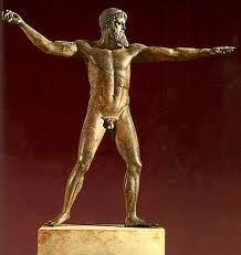 ***Posidón de Artemision (h.470-460 a.C.), Atenas, Museo Arqueológico Nacional._Imágenes exentas: inicios de la escultura clásica.