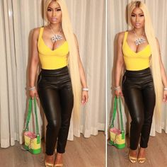 #NickiMinaj in #AlexanderWang