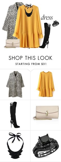 """""""outfit 5453"""" by natalyag ❤ liked on Polyvore featuring STELLA McCARTNEY, Sergio Rossi, Dolce&Gabbana and John Lewis"""