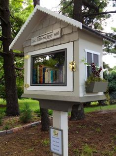 little free library design ideas - Google Search