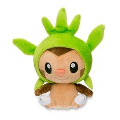 Chespin Poké Doll (Standard Size) - 6  http://.pokemonempire.com