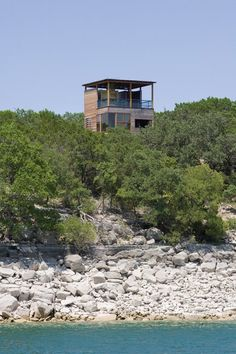 Tower House by Andersson Wise Architects — Lake Travis, Texas