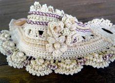 Cuff Bracelet Crochet Bracelet Cuff Bejge by SvetlanaCrochet