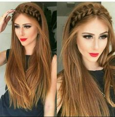 The Latest Idea of The Evening Hairstyle 2018 Fashionable chic hairstyles have the ability to create a main accent in an elegant image and allow you to make the images for the evening amazing and so magical. And do not hesitate, trendy and f. Side Braid Hairstyles, Chic Hairstyles, Bride Hairstyles, Straight Hairstyles, Medium Hair Styles, Curly Hair Styles, Hair Upstyles, Evening Hairstyles, Hair 2018