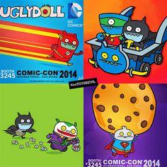 x for 2014 Ugly Dolls, Superhero Movies, Being Ugly, Dc Comics, Nerdy, Pop Culture, Street Art, Geek Stuff, Comic Books