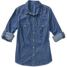 Walmart: Signature by Levi Strauss & Co Women's Denim Shirt