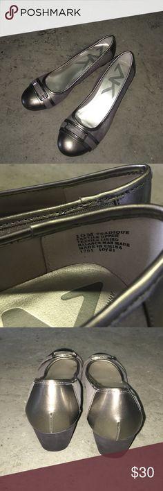 Anne Klein Sport - 10 Anne Klein Sport silver/metallic/grey size 10M Anne Klein Shoes