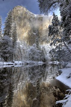 Winter in Yosemite - Yosemite National Park, California, USA