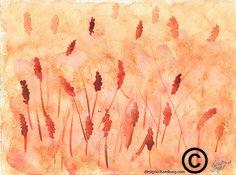 #Aquarell/Watercolor#Feld