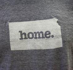 Kansas Home. Tshirt Men's/Unisex by HomeStateApparel on Etsy, $21.95