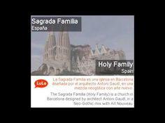 Sagrada Familia en Inglés = Holy Family in Spanish
