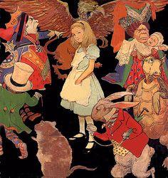 Vintage Alice in Wonderland ~ Jessie Wilcox Smith