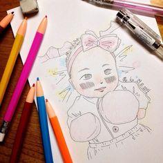fluffly | #mekaworks #drawing