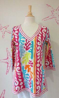 Gretchen Scott tunic