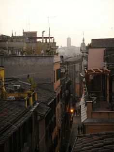 OUT OF MY WINDOW- Via Leonina -Roma - Rione Monti