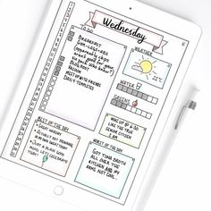 bullet journal for ipad