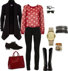 """""""Casual Night Out"""" by thia-ccx on Polyvore"""