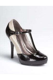 Guess Galone T-strap Platform Pumps - Lyst