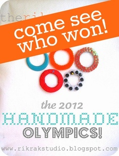 come see WHO won the 3rd annual handmade olympics!
