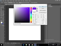 Photoshop How to change your backround color.