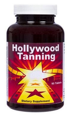 Hollywood Tanning, 90 Tablets by Hollywood Tanning. $29.99. Take Two Tablets a Day. 90 Tablets. Hollywood Tan in a Bottle. Hollywood Tanning tablets are designed to provide a healthy, golden bronze tan all year round, with or without the sun. Hollywood Tanning tablets work even if you are fair skinned. For darker skin types, you will achieve a deeper, richer, much darker colour than ever before. We back these claims with our 90-day, money back guarantee, so there is n...