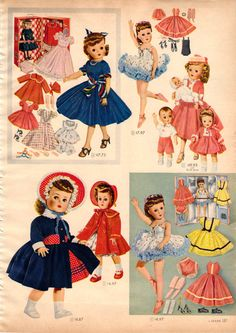 1957 Sears Christmas Catalog - Santa left the ballerina doll for me under the tree that year! Old Dolls, Antique Dolls, Vintage Dolls, Christmas Catalogs, Christmas Books, Doll Toys, Baby Dolls, Toy Catalogs, Retro Toys