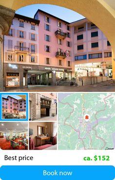 Swiss Quality Lugano Dante Center (Lugano, Switzerland) – Book this hotel at the cheapest price on sefibo.