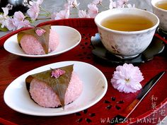 Sakura Mochi is a very popular Japanese sweet, now in spring it is the right time to prepare and serve it. It is also eaten traditionally on Hina Matsuri, Japanese Girls' Day.