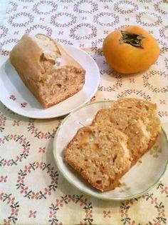 Persimmon Cake 柿のケーキ