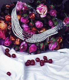 AlmaKarina Studio. Say Hello to Spring. Adler necklace shot for Hong Kong Tatler.