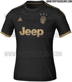 05f443f3b9 Adidas Juventus 15-16 Third Kit Leaked - Footy Headlines Tênis