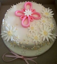 My first baptism cake that I made for my friend's special day! (05/19/13). God bless you Macey.. I hope you were able to enjoy a little nibble of your cake.