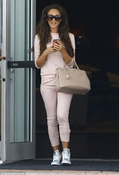 From Miami to Essex! Megan McKenna opted to ditch the glamour on Thursday as she headed to Miami airport