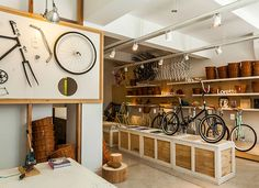 Monochrome Bikes store by Nidolab, Buenos Aires
