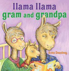 Llama Llama Gram and Grandpa by Anna Dewdney.