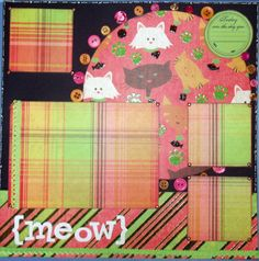 Custom 12x12 pre-made single page Scrapbook Layout by ntvimage