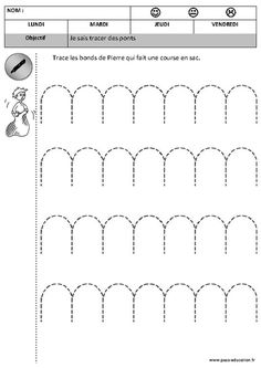 Cliquez pour voir la fiche N-59334 Preschool Learning Activities, Motor Activities, Letter Formation, Help Teaching, Cursive, School Days, Worksheets, Ms, Projects To Try
