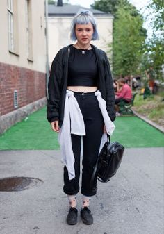 "Satu - Hel Looks - Street Style from Helsinki ""Any piece of clothing can look great if it's in the right context."" So true, pure love!"