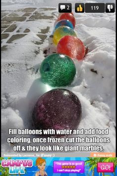 I'm soooo doing this....maybe even just red and green for christmas