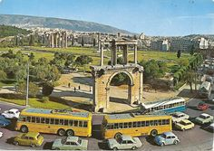 Athens- late 60s Volkswagen Beetles, Athens Greece, Old City, Public Transport, Big Ben, Transportation, History, Places, Pictures