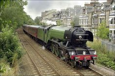The Flying Scotsman in York