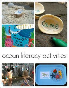 preschool ocean theme literacy 1