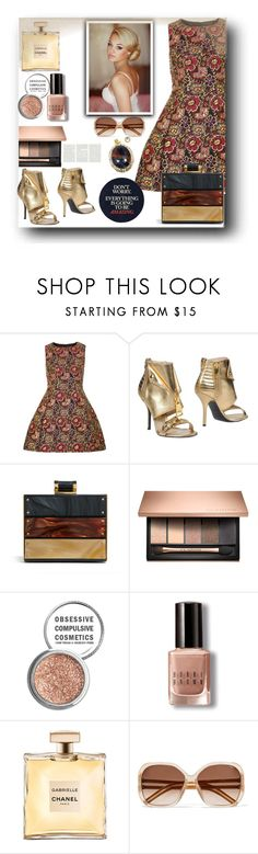 """Untitled #876"" by pesanjsp ❤ liked on Polyvore featuring Dorothy Perkins, Moschino, Obsessive Compulsive Cosmetics, Bobbi Brown Cosmetics and Chloé"